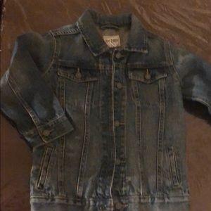 Kid jeans jacket